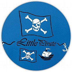 Wandschablone Pirat Totenkopf Little-Pirate B6018