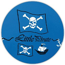 Piraten Wandschablone - Little Pirates