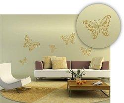 tiere wandschablonen bilder f r die w nde. Black Bedroom Furniture Sets. Home Design Ideas